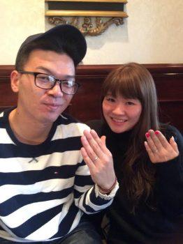 ♡♡♡ 背山様 Wedding Ring ♡♡♡