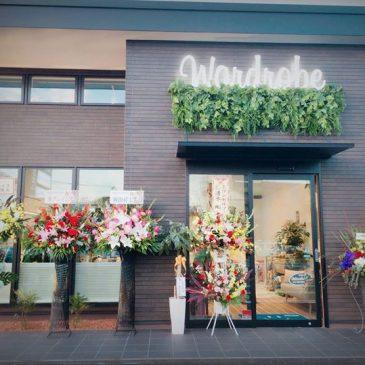 ☆★☆Wardrobe 10/29グランドオープン!!☆★☆