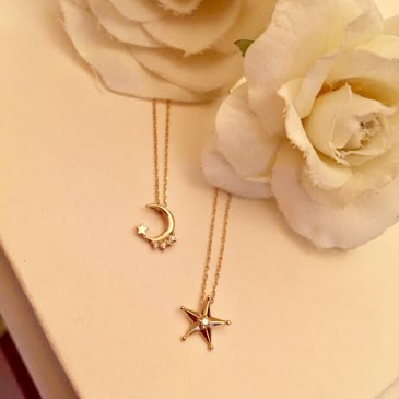 ☆★☆Moon・Star+*.DiamondNecklace☆★☆