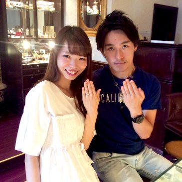 ☆*.。中野様 Wedding Ring.。*☆