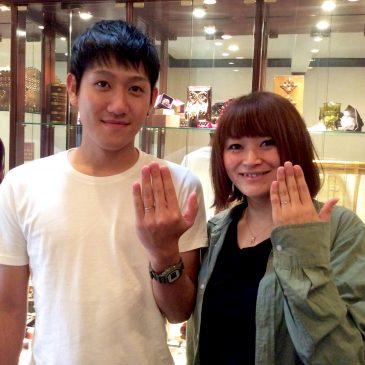 ♢*.。松岡様 Wedding Ring.。*♢