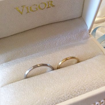 ♢*.。F様 Wedding Ring.。*♢