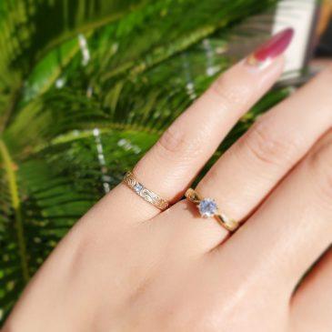 #CROCEオリジナル .。:*+゜K10 HawaiianJewelry Ring ゜+*:.。.*:+☆